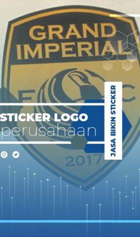 Sticker Logo Perusahaan