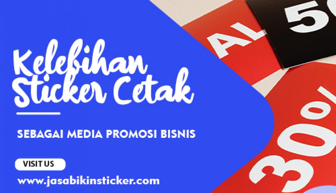 kelebihan sticker sebagai media promosi